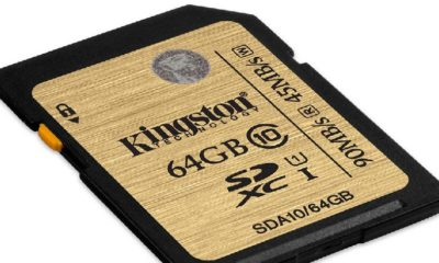Kingston presenta tarjeta SDXC de 512 GB 32
