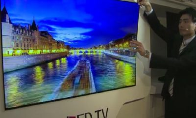 LG TV OLED de increíble delgadez 79