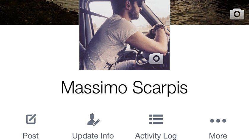 Los perfiles de Facebook se verán muy diferentes en la aplicación para móviles