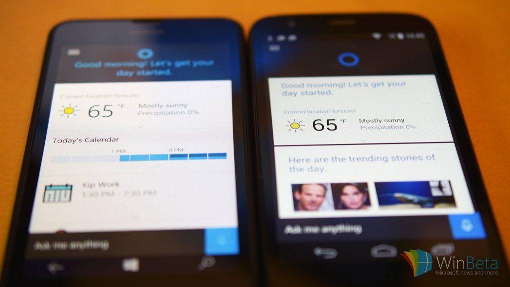 Microsoft actualiza Cortana para que pueda sustituir a Google Now