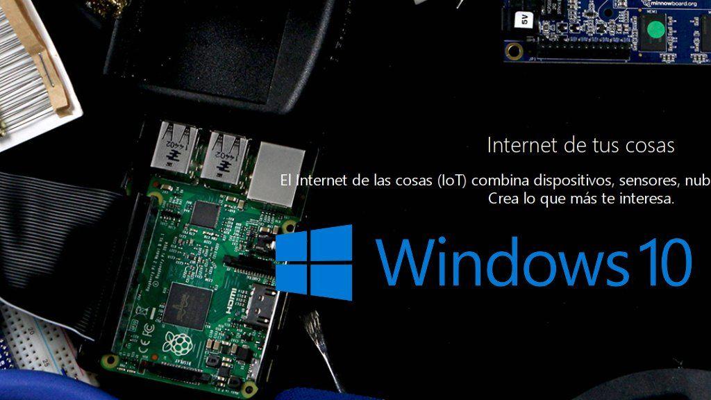 Microsoft lanza la versión final de Windows 10 IoT Core