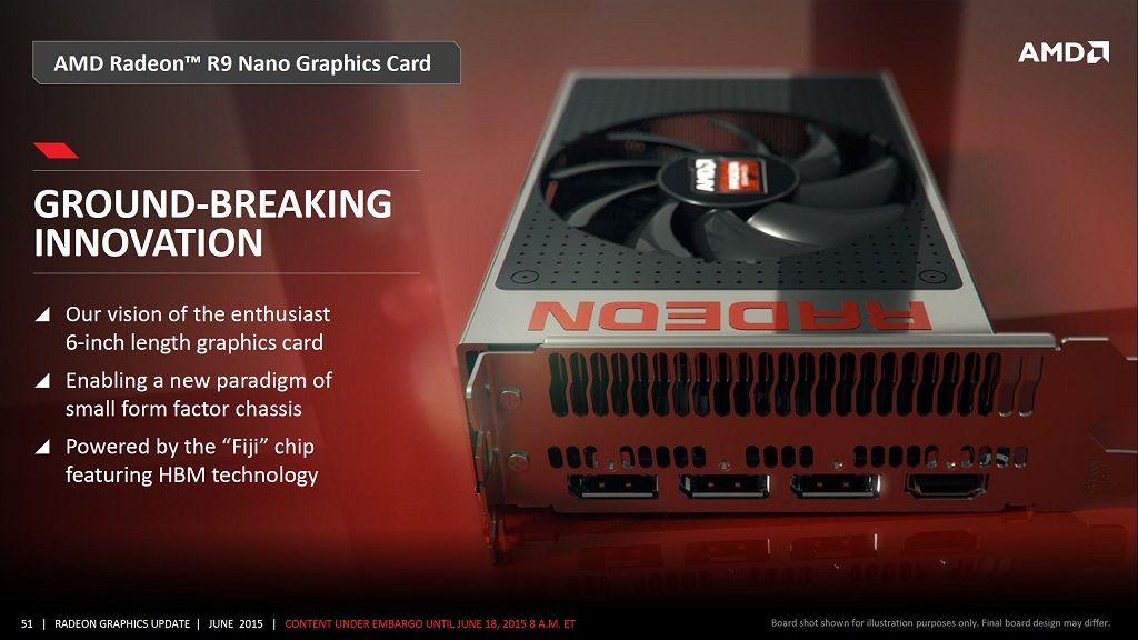 Primeros detalles de rendimiento de la Radeon R9 Nano de AMD 29