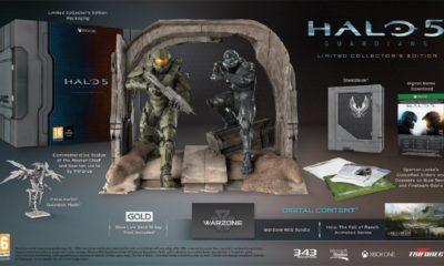 Edición de lujo de Halo 5 con una Neddler Gun incluida 29