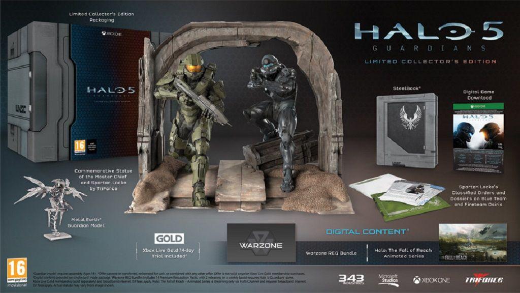 Edición de lujo de Halo 5 con una Neddler Gun incluida 30