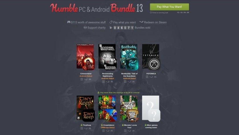 Humble PC & Android Bundle 13, más juegos multiplataforma ...