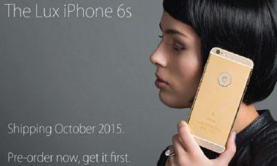 iPhone 6s con diamantes
