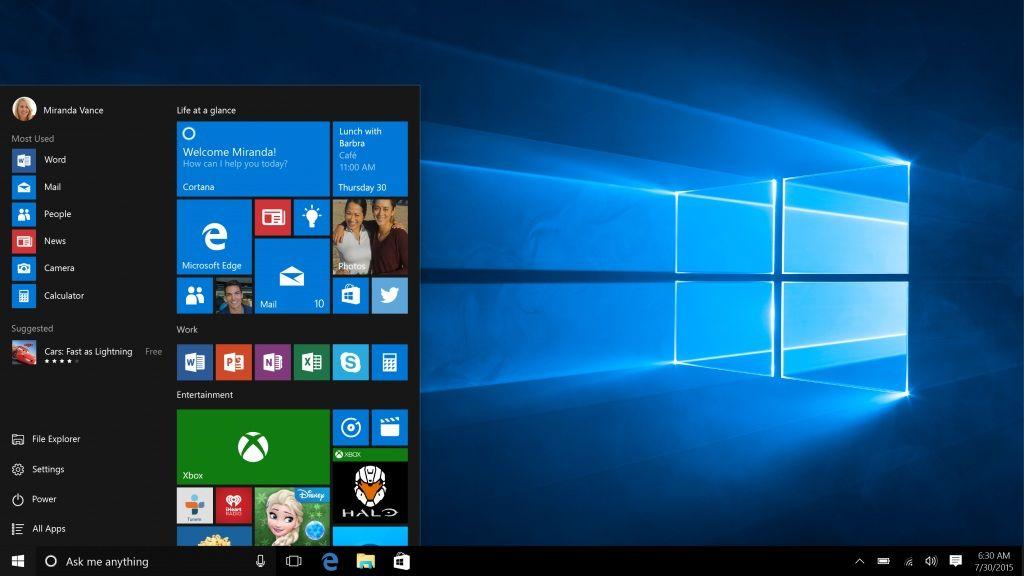 Windows 10 no impresiona al creador del menú de inicio de Windows 95 40