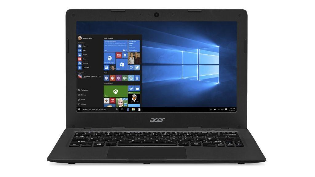 Especificaciones del portátil Acer de 169 dólares 35