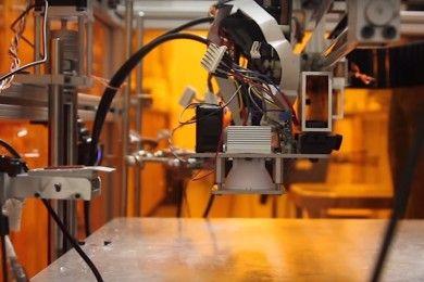 La MultiFab 3D puede manejar 10 materiales a la vez