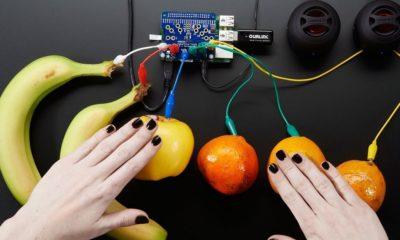 Convierten Raspberry Pi y frutas en un piano 29