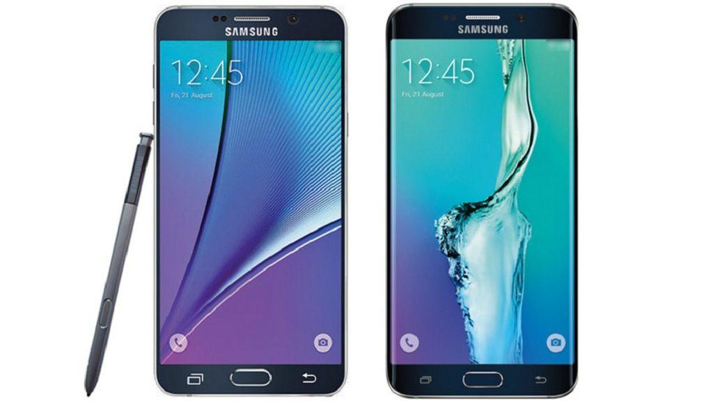 Este sería el diseño final de los Galaxy Note 5 y S6 Edge+ 30