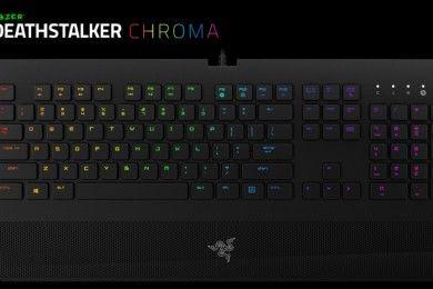 Razer presenta el teclado DeathStalker Chroma