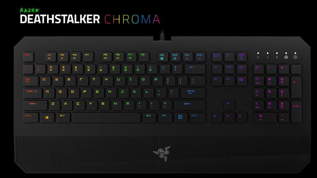 Razer presenta el teclado DeathStalker Chroma 28