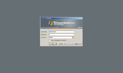 Parte de Internet sigue corriendo en Windows Server 2003 36