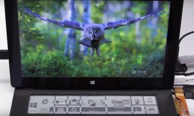 DisplayCover, teclado con pantalla de tinta electrónica 56