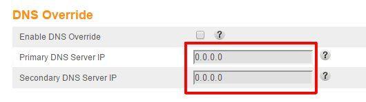 04 DNS que aparecen en la configuracion del router 1