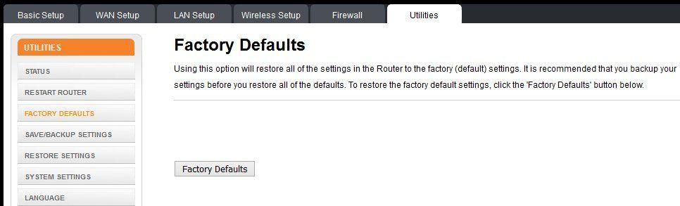 06 Resetear router via software