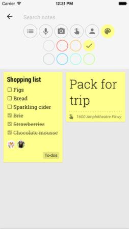 Google Keep llega a iPhone y iPad 40