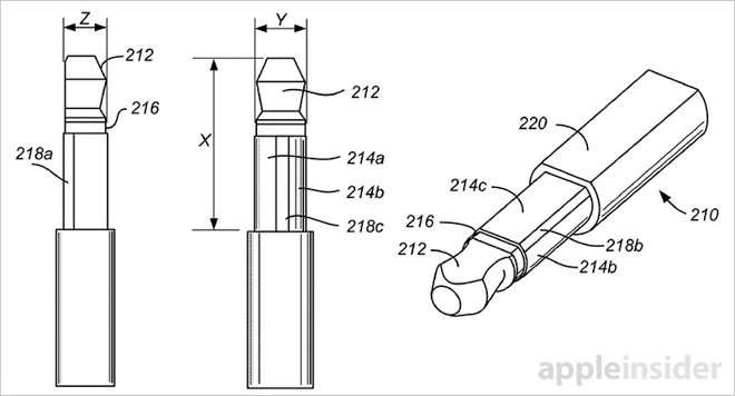 Nuevo conector de audio privativo de Apple 1