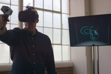 Así pinta con Realidad Virtual un mito de la animación
