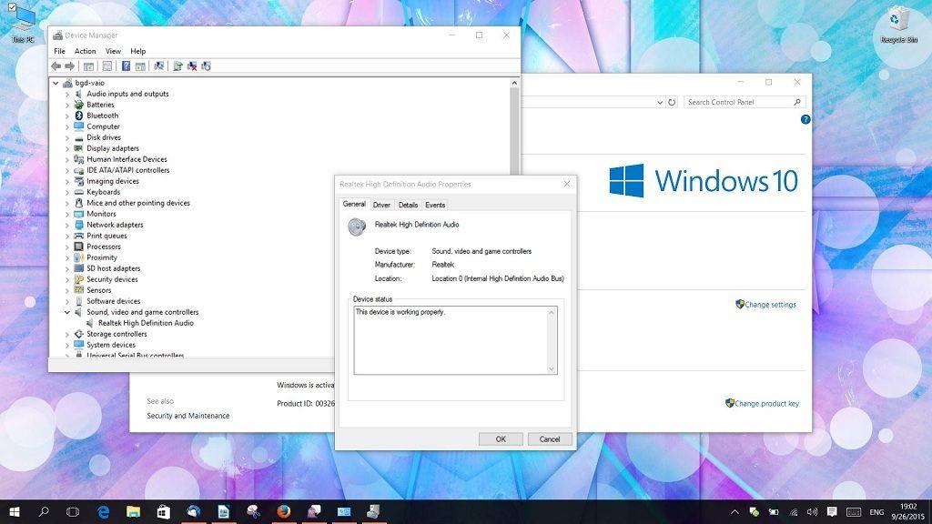 ¿Sin sonido tras instalar Windows 10? Soluciones 29