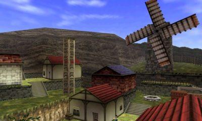 Kakariko Village de Zelda Ocarina of Time en Unreal Engine 4 85