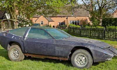 Subastarán un Aston Martin que estuvo escondido 40 años 50