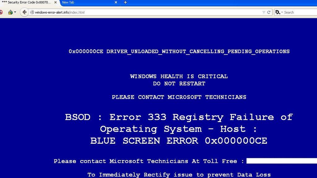 Malware en falsos pantallazos azules de Windows 28