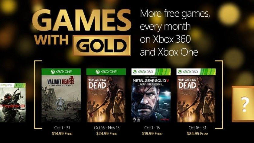 Metal Gear Solid V gratis en Games with Gold