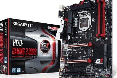GIGABYTE presenta la placa H170-Gaming 3 D3