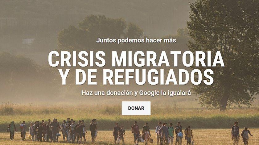 Google inicia campaña solidaria, igualará tus donaciones 33