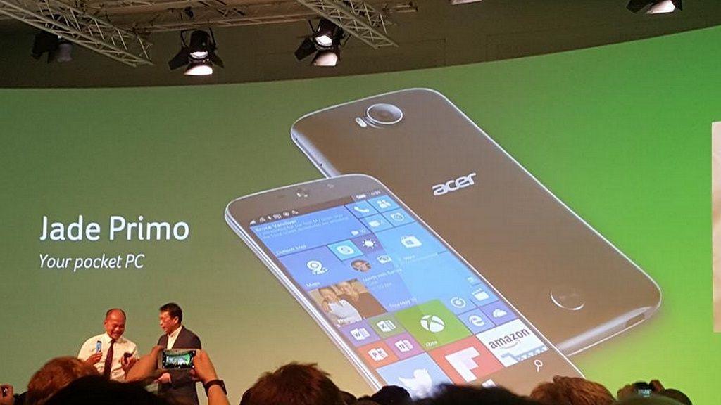 Jade Primo, primer smartphone PC gracias a Continuum 30
