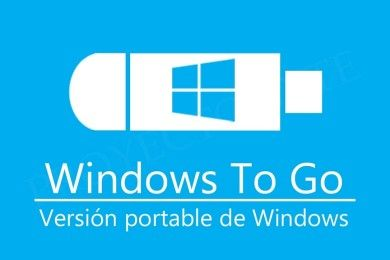 Cómo crear un USB Windows 10 To Go