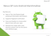 Se filtran las características del Google Nexus 6P 32