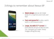 Se filtran las características del Google Nexus 6P 54