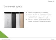 Se filtran las características del Google Nexus 6P 44