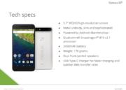 Se filtran las características del Google Nexus 6P 48