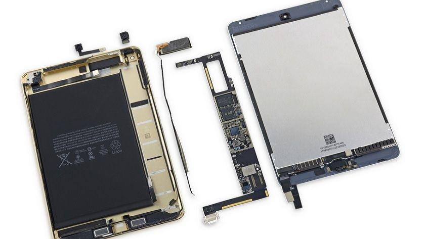 iFixit desmonta el iPad Mini 4 y suspende de forma aplastante 29