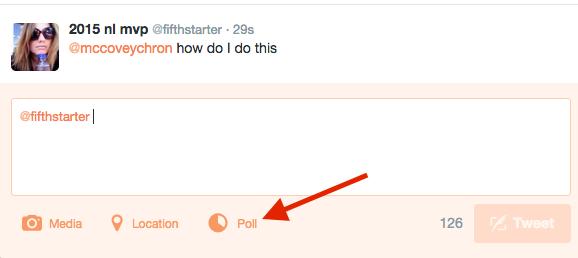 Creación de una encuesta nativa en Twitter