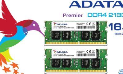 ADATA presenta memorias DDR4 SO-DIMM 91