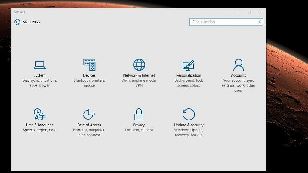 El Panel de Control podría decir adiós en Windows 10 29
