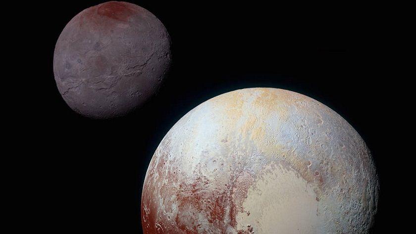 Así es Caronte, la luna más grande de Plutón 29