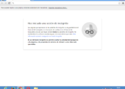 Cómo se ve la navegación privada en Google Chrome