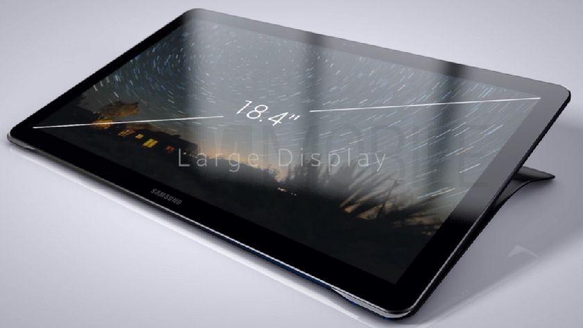 Aquí está el tablet gigante Samsung Galaxy View 29