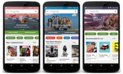 Google ya está desplegado el nuevo diseño de la Play Store