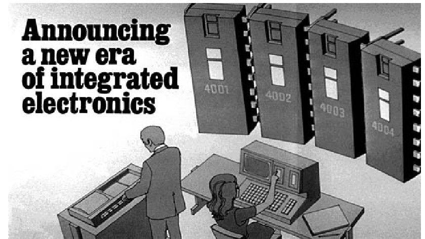44 años del Intel 4004, primer microprocesador mundial
