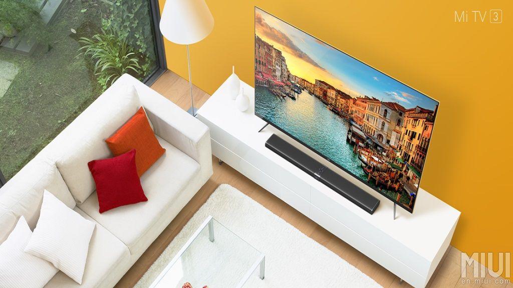 """Xiaomi Mi TV 3, 60"""" con resolución 4K y Android por 800$ 29"""