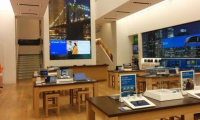 Microsoft abre su tienda insignia en la Quinta Avenida de Nueva York