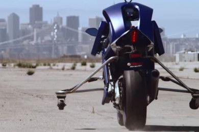 Motobot, así de chulo es el robot motero de Yamaha