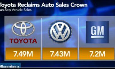 Volkswagen pierde la corona mundial en ventas a manos de Toyota 251